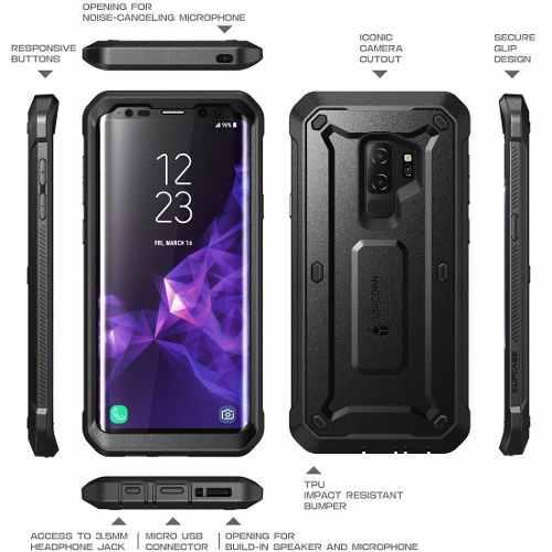 Case Armor Galaxy S9 Plus Protector Todo Terreno Militar