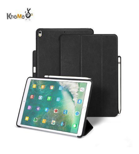 Khomo Case Para iPad Pro 12.9 2017 Funda Estuche De Cuero
