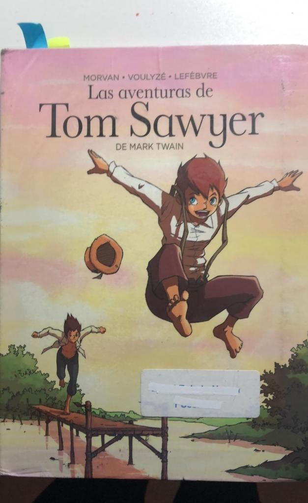 Plan Lector Las Aventuras de Tom Sawyer