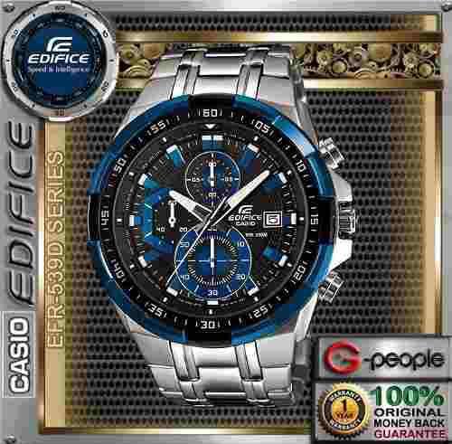 Reloj Casio Edifice Efr 539d-2av - Sellado Original