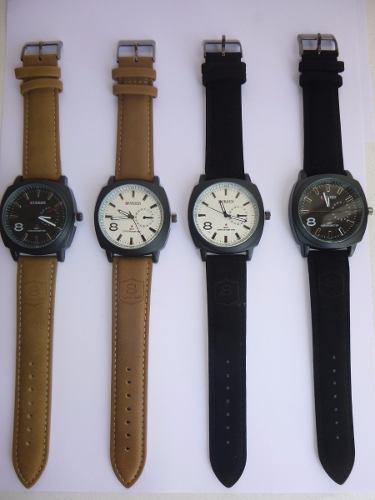 Reloj Curren 8139 Correa De Cuerina