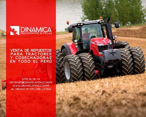 Repuestos para maquinaria agrícola en Chiclayo