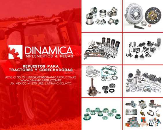 Venta de repuestos para tractor chiclayo en Chiclayo