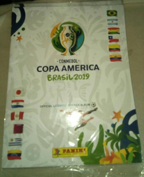 lbum Tapa Blanda Copa América 2019 D