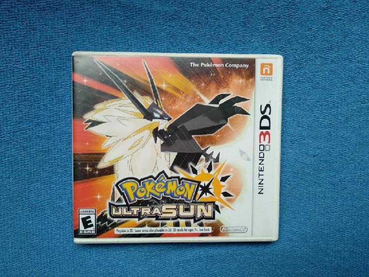 Juego Pokemon Ultra Sun Nintendo 3ds