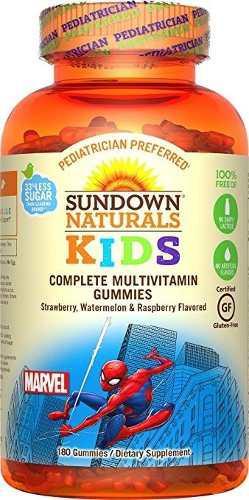 Multi Vitaminas Spiderman X 180 Gomitas U S A