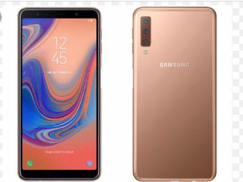 Samsung A7 2018 Con 64gb Interna Original Nuevo Más Tiendas