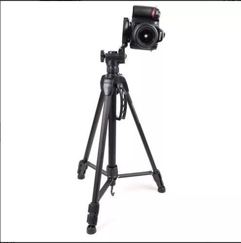 Tripode Camara Para Foto O Video - Aluminio -hasta 3kg Peso