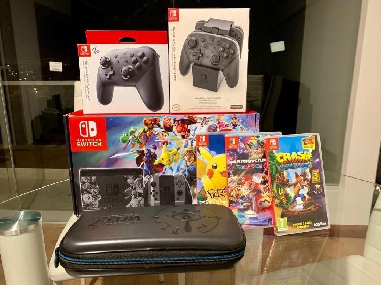 Vendo Nintendo Switch Accesorios