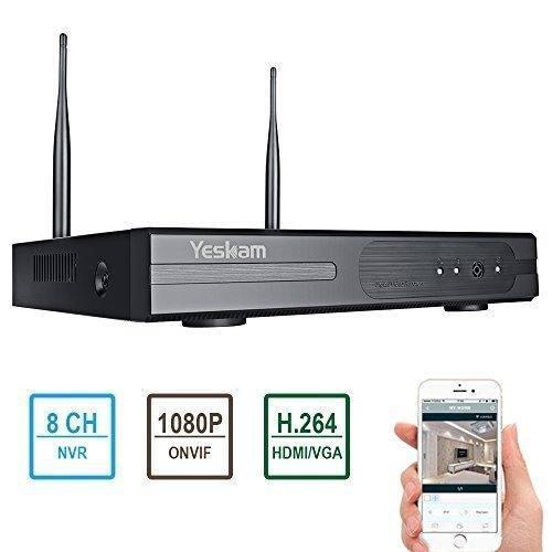 Yeskam 8 Canal 1080p Compatible Con Grabadora De Video En Re