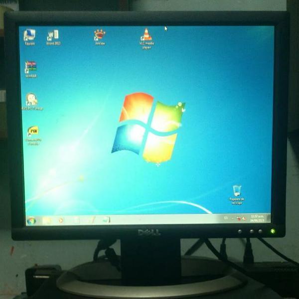 Monitor Lcd 17 Pulgadas Dell, En Buen Estado, Puertos