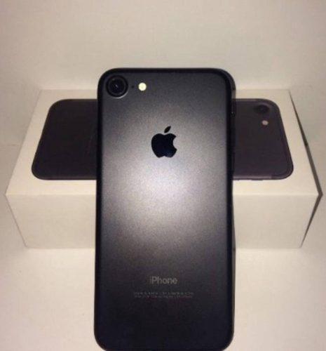 iPhone 7 32gb + Accesorios Libre| Negro + Vidrio, Garantía