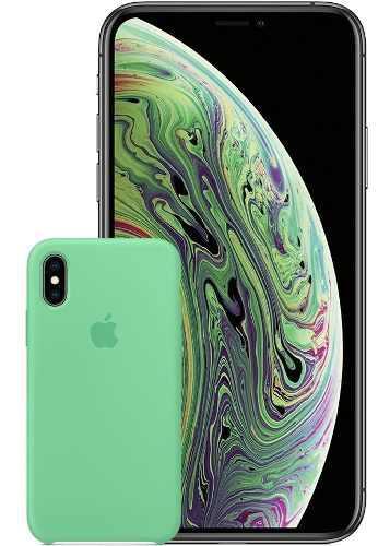 iPhone Xs 64gb Libre 4g Lte + Case Apple Sellado Garantía