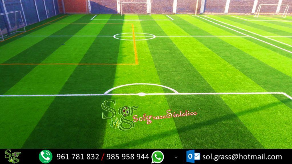 venta e instalación de grass sintético deportivo de todas