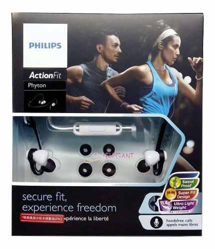 Audifono C/microf. Philips Sports Shq4305ws Black (pn Shq430
