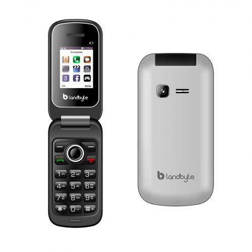 Teléfono Celular Básico Landbyte K1 1.77 Dual Sim 2g...