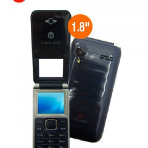 Teléfono Celular Básico Maxwest Uno Clam 1.8 Gsm Dua...