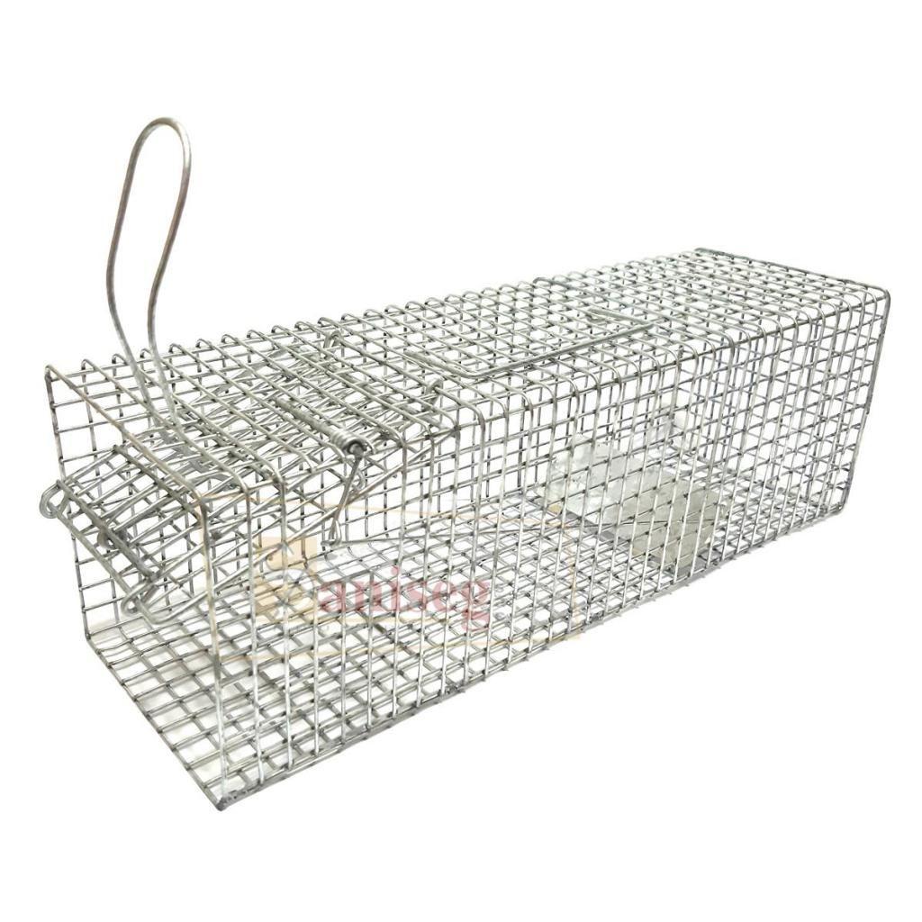 Trampa para roedores tipo TOMAHAWK - Para captura viva de