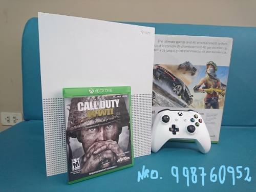 Xbox One S 500gb Con Caja Y Juego Incluido