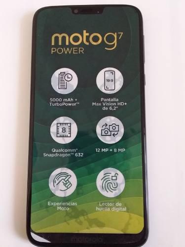 Equipo Celular Motorola G7 Power.nuevo.modelo 2019