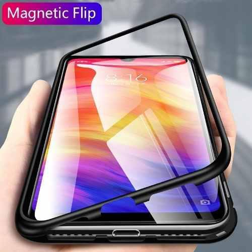 Funda Case Magnetico C/ Vidrio Templado Xiaomi Note 7 Mi9 Se