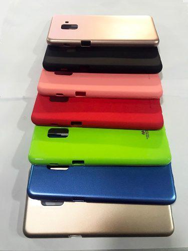 Funda Case Protector Gel Silicona A8 Plus 2018 Samsung Jelly