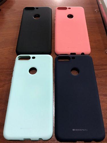 Funda Case Protector Tpu Gel Silicona Huawei Y7 2018 Jelly