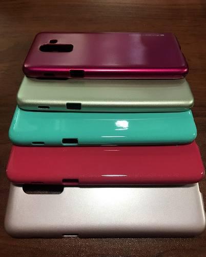 Funda Case Protector Tpu Gel Silicona Para J8 Samsung Jelly