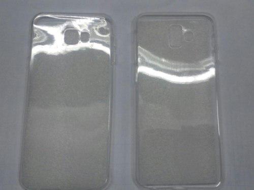 Funda De Gel Transparente Para Samsung J4 Y J6 Plus