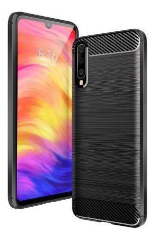Funda Fibra Carbono Samsung A30 A50 A70 J2 Prime J4 A8 2018+