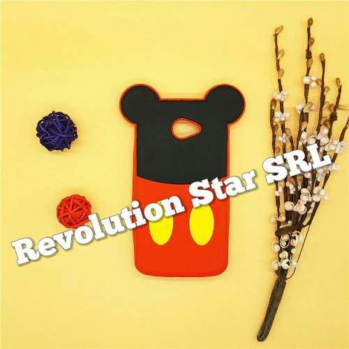 Funda Protector De Silicona Para Celular Lg K5 De Mickey