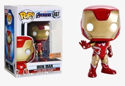 Funko Pop! Avengers Endgame - Iron Man Exclusivo