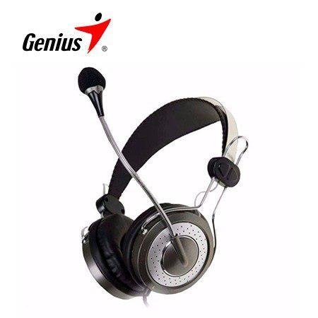 Audifono C/microf. Genius Hs-04su Noise Cancelling