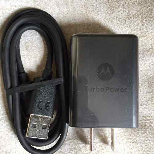 Cargador Celular Motorola Turbo Power 3a Original