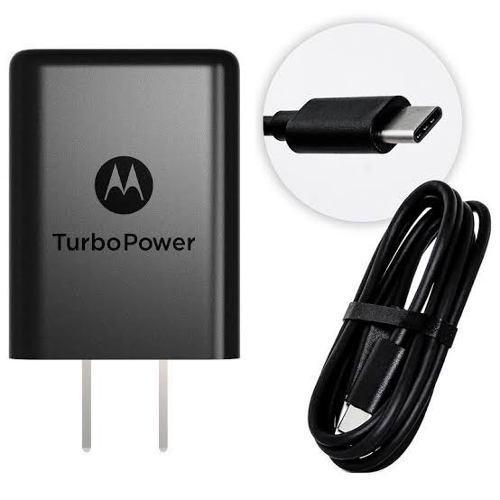 Cargador Original Motorola Turbo Power Moto G6 Plus Tipo-c