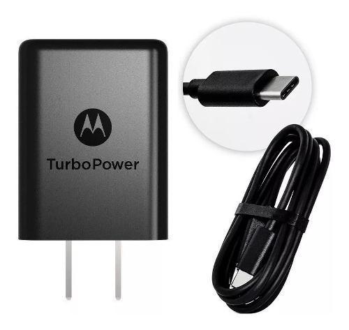 Turbo Cargador Motorola Original Moto Z, Z2 Play Tipo- C