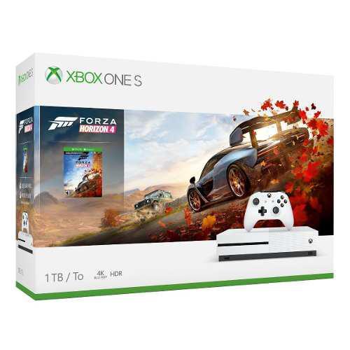 Xbox One S 1tb Forza Horizon 4 100% Nuevo
