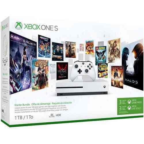 Xbox One S 1tb Paquete De Iniciacion, 3 Meses De Gamepass