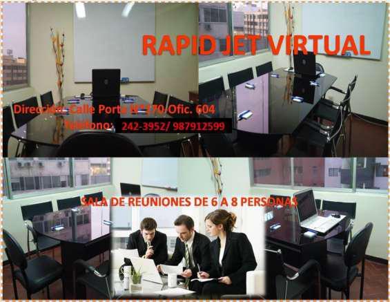 Alquiler de salas de reunion en miraflores en Lima