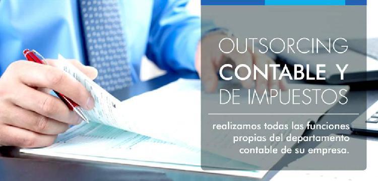 SERVICIOS DE CONTABILIDAD PARA EMPRESAS Y OUTSOURCING