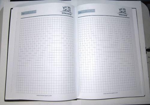 Cuaderno A4 100 Hojas Bond 75gr Rayado Cosido Biocuero Gjlea