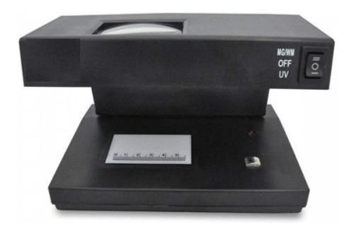 Detector De Billetes Falsos Ad-2038 Uv+magnetico Ideal Dolar