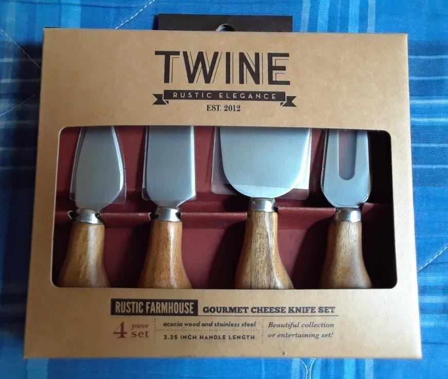 Juego de cuchillos para queso TWINE Rustic Elegance