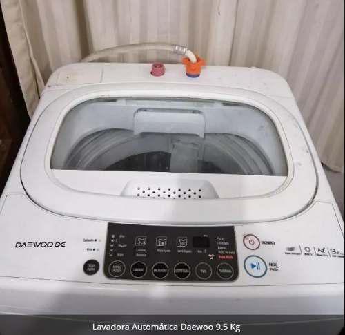 Lavadora Automática Daewoo 9.5 Kg