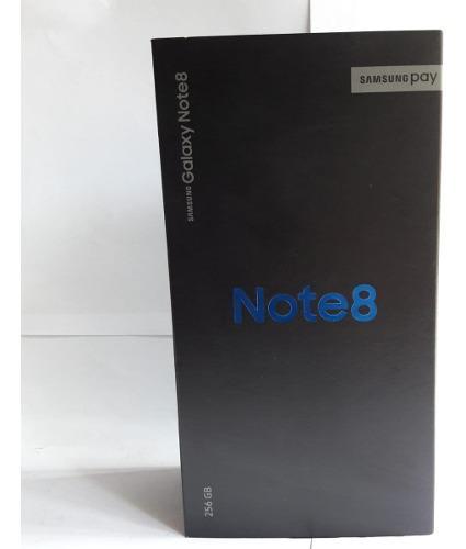 Samsung Galaxy Note 8 256gb Azul Boleta Oficina San Borja