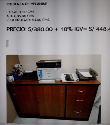 Se Vende Muebles De Oficina En Excelente Estado
