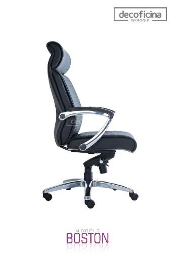 Silla Giratoria Ergonómica Para Oficina Boston Decoficina