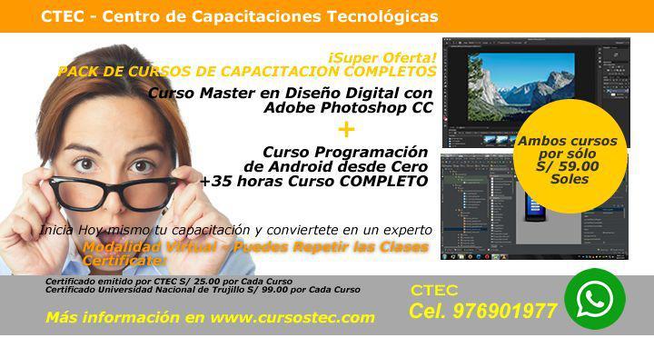 Super Oferta! PACK DE CURSOS DE CAPACITACIÓN___COMPLETOS!