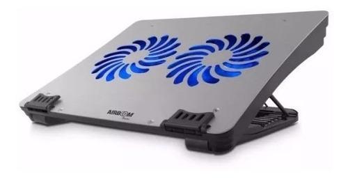 Cooler De Aluminio Para Laptop Airboom Xperto Isc