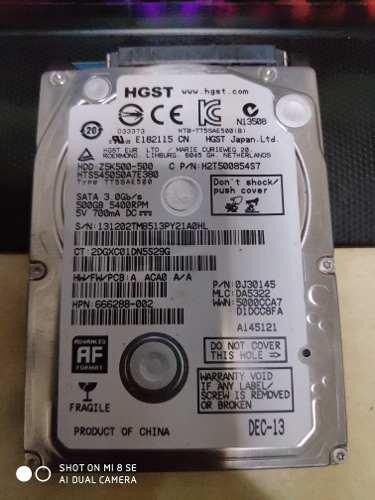 Disco Duro Hdd 500gb 2.5 Laptop Ps3 Ps4 Xbox One 360